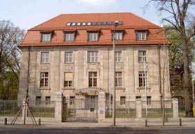 Villa Sack in Leipzig, seat of the Fifth Criminal Panel